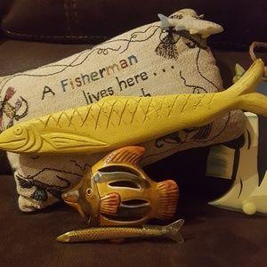 Fishing memorabilia